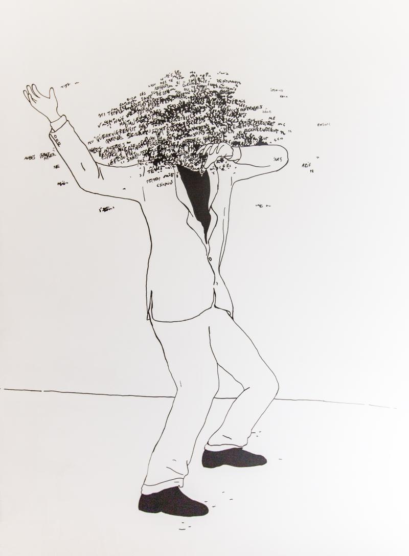 Il essayait d'arrêter, Abdelkader Benchamma  © Alex Nollet/La Chartreuse