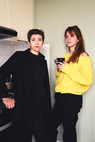 Giuseppina Comito et Marion Bouquet © Vicktowria