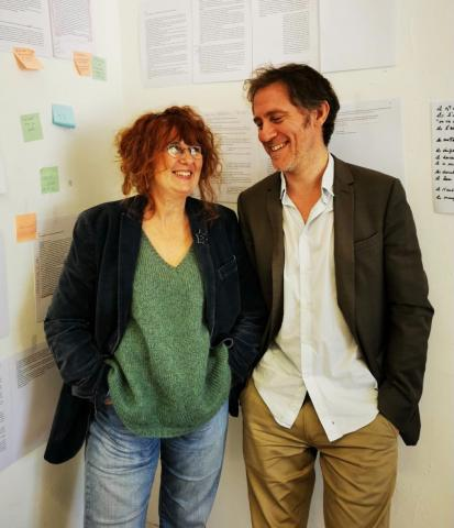 Anne-Laure Liegeois et Arno Bertina