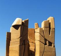 sculpture Michel Andrault © Alex Nollet - La Chartreuse