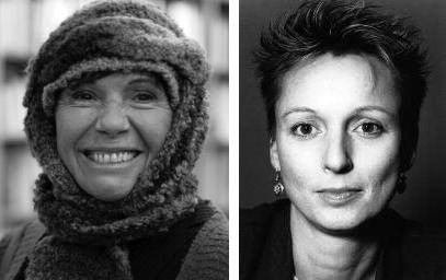 Marie-Luce Bonfanti et Crista Mittelsteiner © DR