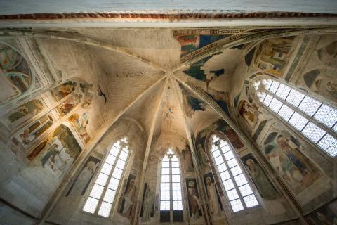 Chapelle des Fresques © Alex-Nollet La Chartreuse