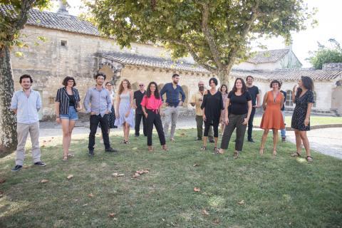 Participants du Studio européen de septembre 2018 © Alexandre Nollet