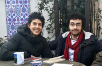 Omar Youssef Souleimane, Sara Llorca © Céline Lugué